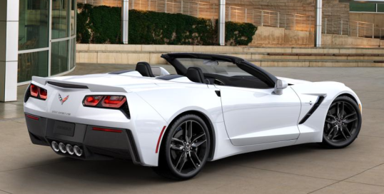 Company OverviewWhite 2014 Corvette Convertible